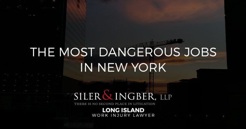 The Most Dangerous Jobs in New York