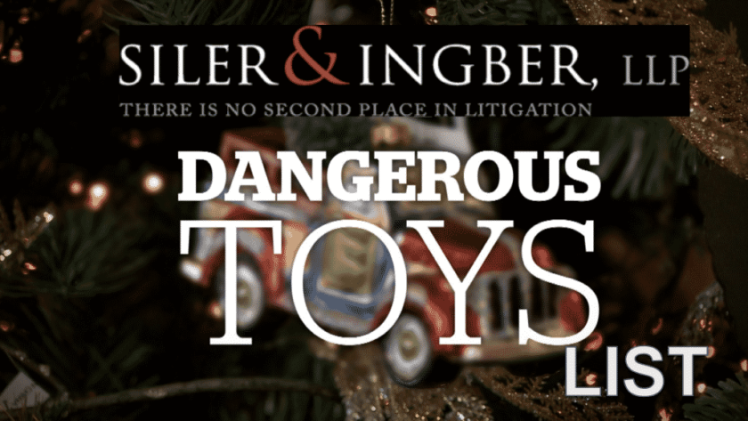 Top 10 Most Dangerous Toys of 2017