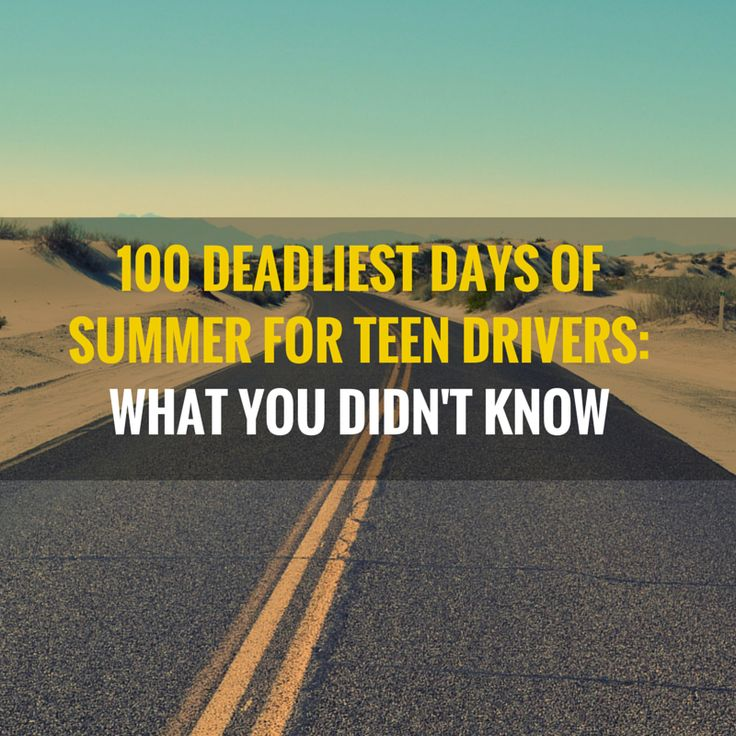 100 Deadliest Days of Summer