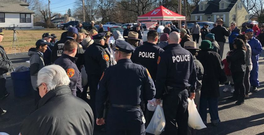 11th Annual Cops Who Care Food Distribution