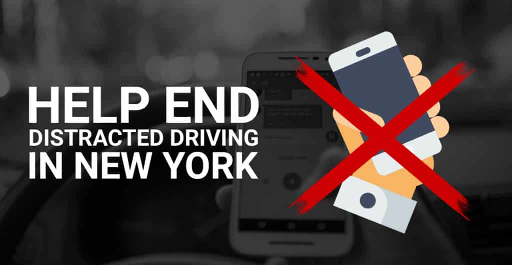 End Distracted Driving In New York