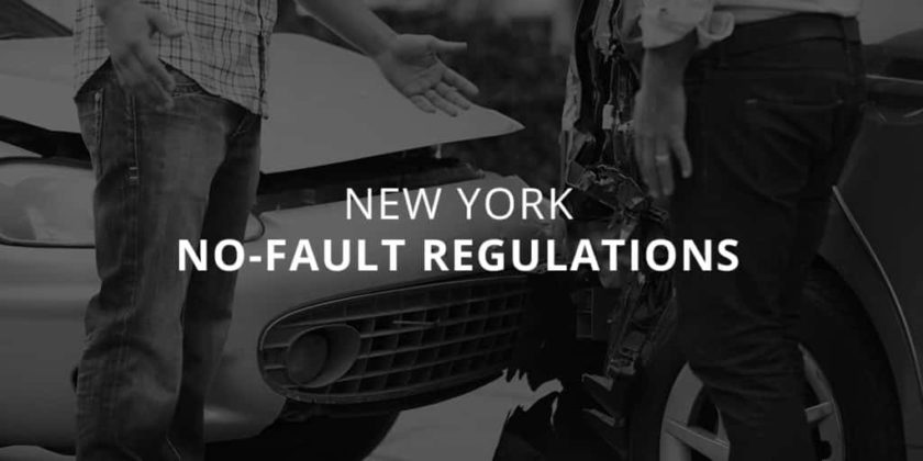 New York No-Fault Regulations