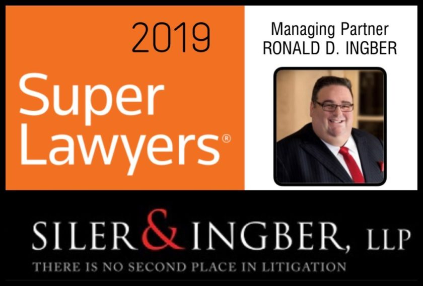 Siler & Ingber's Partner Ronald Ingber Named NY Metro Super Lawyer