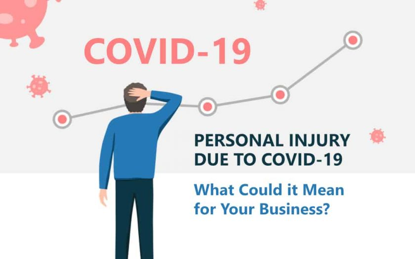 Personal Injury due to COVID-19 – What Could it Mean for Your Business?