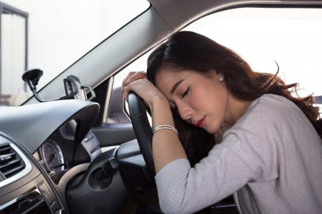 Risks Involved in Drowsy Driving by Uber and Lyft Drivers